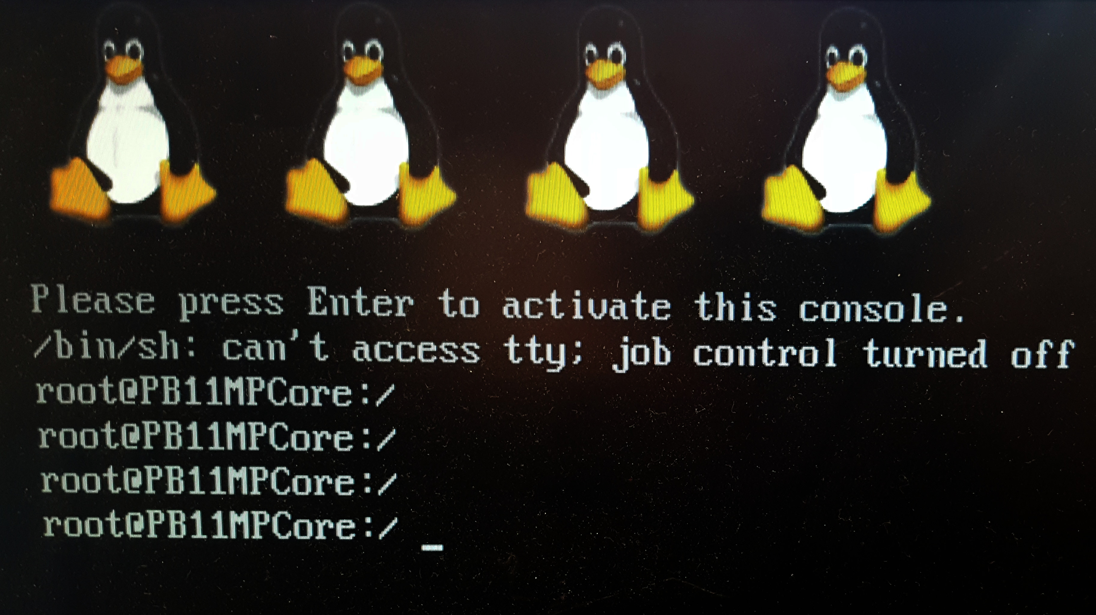 Recent Linux kernel on the ARM RealView series